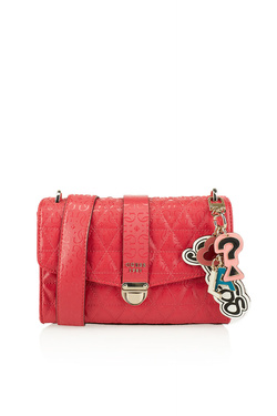 Sac GUESS TABBI SHOULDER BAG Rose fuchsia