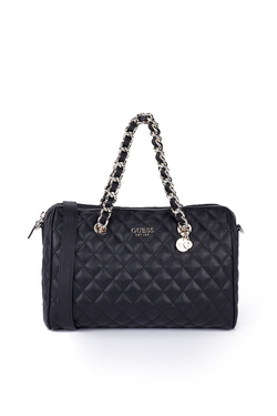 Sac GUESS SWEET CANDY LARGE SATCHEL Noir