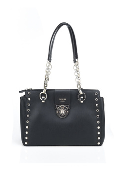 Sac GUESS MARLENE LUXURY SATCHEL Noir