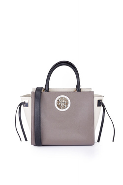 Sac GUESS OPEN ROAD SOCIETY SATCHEL Taupe