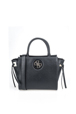 Sac GUESS OPEN ROAD SOCIETY SATCHEL Noir