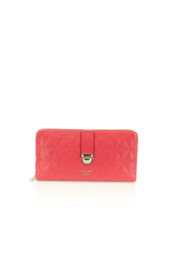 Portefeuille GUESS TABBI SLG CHEQUE ORGANIZER Rose