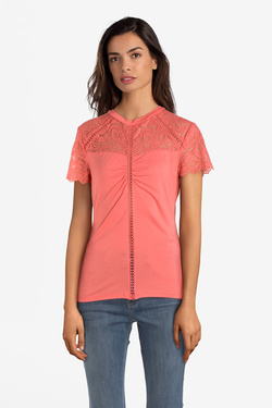Tee-shirt GUESS W91P13R7EY0 BETTY TOP Rose