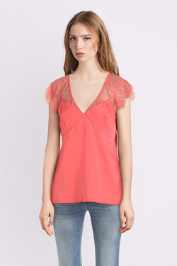 Blouse GUESS W91H03W8IK0 SL MARTINA TOP Rose