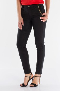 Pantalon GUESS W91B03W93C4 NEW BERTA CHINO Noir