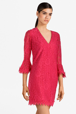 Robe GUESS W91K58WB4L0  LARINA DRESS Rose