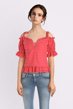 Blouse GUESS W92H0CWBK90 SL NEW ISOTTA TOP Rose