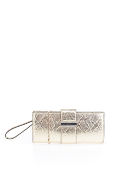 Sac GUESS HIGHLIGHT WRISTLET CLUTCH Or