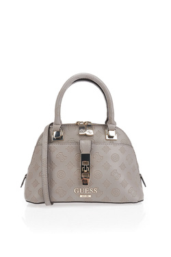 Sac GUESS PEONY CLASSIC SML DOME SATCHEL Taupe