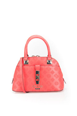 Sac GUESS PEONY CLASSIC SML DOME SATCHEL Rouge