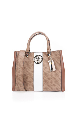 Sac GUESS BLUEBELLE CARRYALL Marron