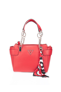 Sac GUESS ANALISE SOCIETY SATCHEL Rouge