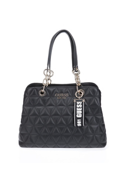 Sac GUESS LAIKEN GIRLFRIEND SATCHEL Noir
