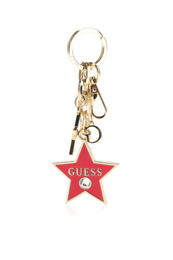 Autres accessoires GUESS NOT COORDINATED KEYCHAIN Rouge