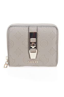 Portefeuille GUESS PEONY CLASSIC SLG SML ZIP ARND Taupe