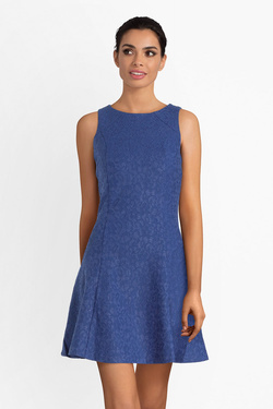 Robe GUESS W93K84K8RY0 KATRINA DRESS Bleu