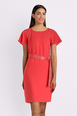 Robe GUESS W93K67WBTZ0 PALOMA DRESS Rouge