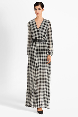 Robe GUESS W93K96WBUD0 MAYA DRESS Noir