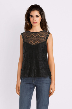 Débardeur GUESS W93P87K86V0 DOLLY TOP Noir