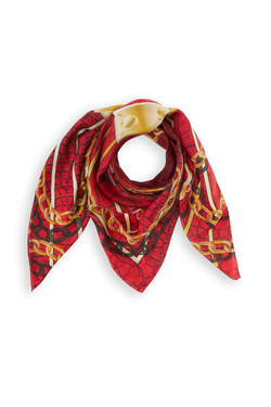 Foulard GUESS AW8295 SIL90 Rouge bordeaux