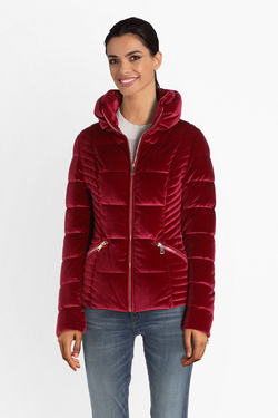 Blouson GUESS W94L0IWC570 TEOMA JACKET Rouge bordeaux