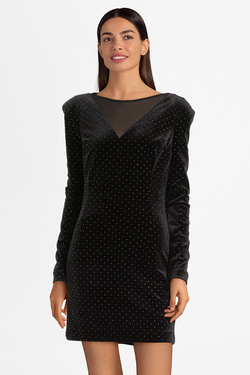 Robe GUESS W94K98K9650  GEMMA DRESS Noir