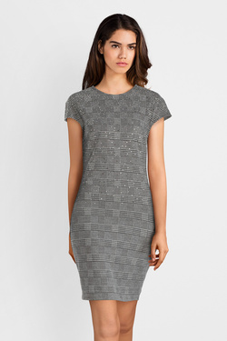 Robe GUESS W94K96K9640  ROSARIA DRESS Gris