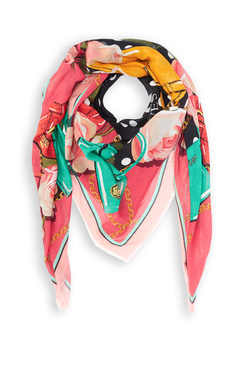 Foulard GUESS AW8365 VIS03 Rouge