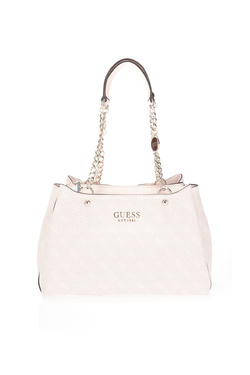 Sac GUESS LORENNA GIRLFRIEND SATCHEL Rose pale