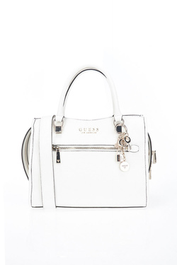 Sac GUESS LIAS GIRLFRIEND SATCHEL Blanc