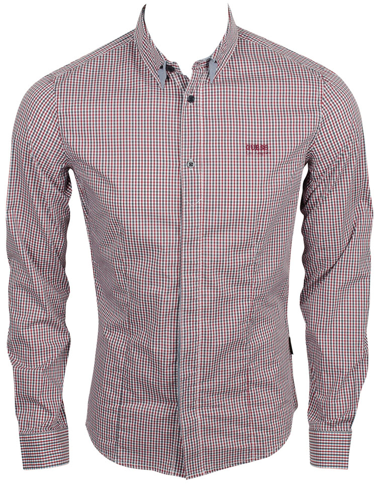Guess Homme Chemise Chemise Guess Slim Fit Homme Blanche 2013