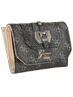 GUESS Portefeuille taupe SWSG46 64670