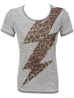 GUESS Tee-shirt gris W44I02 K2Y30