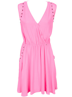 GUESS Robe habillee rose W51K29 W6430