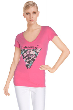 GUESS - Tee-shirtW61I08 K1DM0Rose