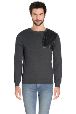 Pull GUESS M63R48 Z1BH0 Gris
