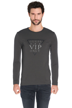 GUESS - Tee-shirt manches longuesM62I08 J1300Gris