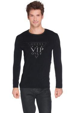 GUESS - Tee-shirt manches longuesM62I08 J1300Noir