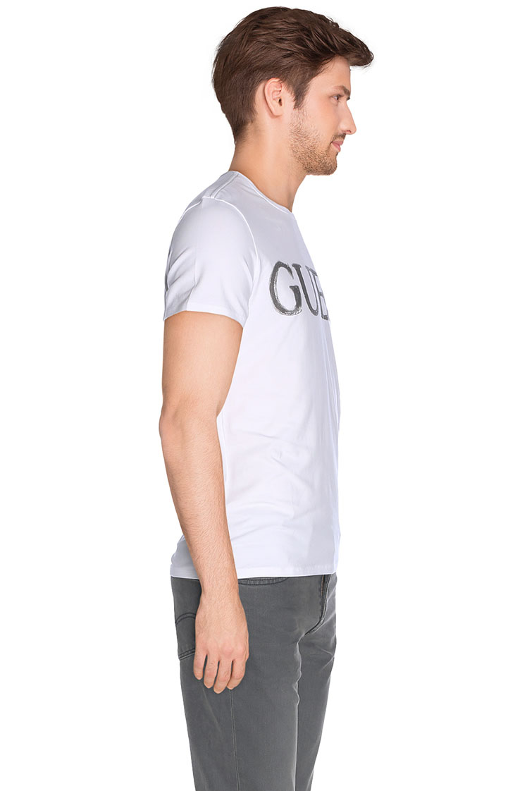 guess tee shirt m62i13 j1300 blanc homme des marques et vous. Black Bedroom Furniture Sets. Home Design Ideas