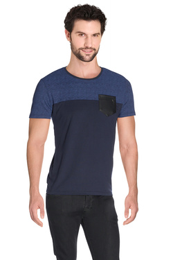 GUESS - Tee-shirtM63P55 K4OF0Bleu marine