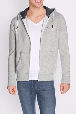 Sweat-shirt HILFIGER DENIM 1957888833 Gris clair