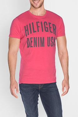 HILFIGER DENIM - Tee-shirtDM0DM01906Rose