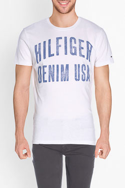 HILFIGER DENIM - Tee-shirtDM0DM01906Blanc