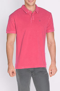 Polo HILFIGER DENIM DM0DM01812 Rose
