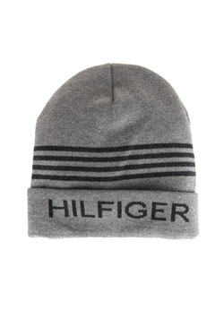 Bonnet HILFIGER DENIM AM0AM02831 Gris