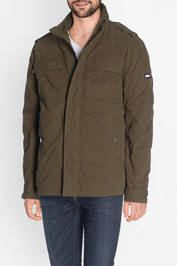 Parka HILFIGER DENIM DM0DM03066 Marron