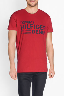 Tee-shirt HILFIGER DENIM DM0DM02192 Rouge