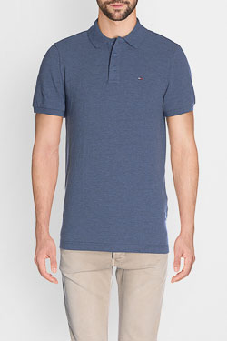 Polo HILFIGER DENIM DM0DM02772 Bleu marine