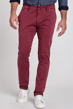 Pantalon HILFIGER DENIM DM0DM02720 Rouge bordeaux