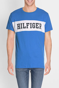 Tee-shirt HILFIGER DENIM DM0DM02404 Bleu
